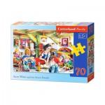 Puzzle  Castorland-B-007042 Blanche Neige et les Sept Nains