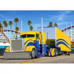 Puzzle  Castorland-B-007097 Camion Peterbilt 389