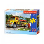 Puzzle  Castorland-B-007127 Camion Citerne