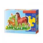 Puzzle  Castorland-B-015023 Le Beau Petit Poulain
