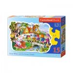 Puzzle  Castorland-B-015085 Blanche Neige et les Sept Nains