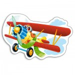 Puzzle  Castorland-B-015092 Avion Rigolo