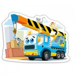 Puzzle  Castorland-B-015108 Camion Rigolo