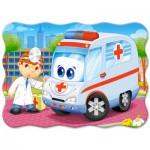 Puzzle  Castorland-B-03471 Médecin de l'Ambulance