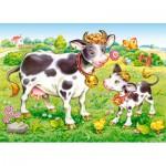 Puzzle  Castorland-B-035090 Les Vaches dans la Prairie