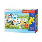 Puzzle  Castorland-B-035151 L'Ambulance