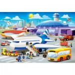 Puzzle  Castorland-B-040223 Pièces XXL - A Day at the Airport