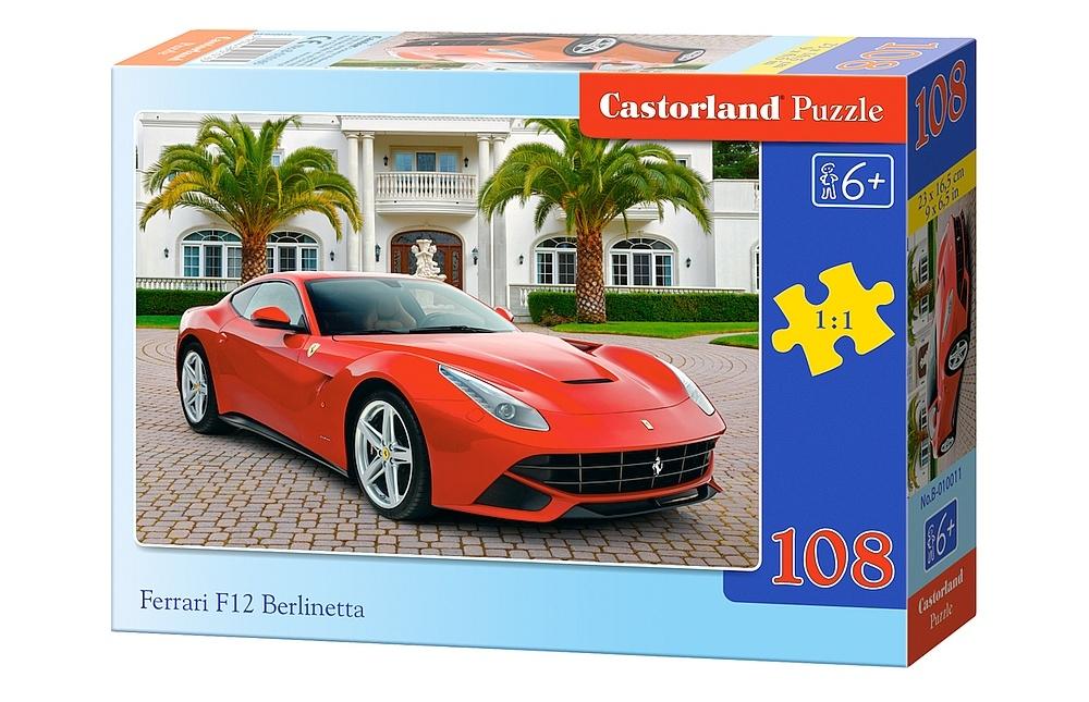 ferrari f12 berlinetta 108 teile castorland puzzle. Black Bedroom Furniture Sets. Home Design Ideas