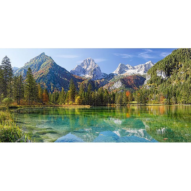 montagnes majestueuses 4000 teile castorland puzzle. Black Bedroom Furniture Sets. Home Design Ideas