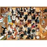 Puzzle  Heye-08793 Noir ou blanc