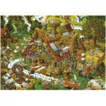 Puzzle  Heye-08832 Drôle de ferme