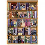 Puzzle  Heye-29234 Livres