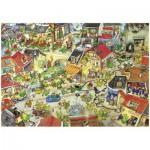 Puzzle  Heye-29406 Degano : La ville aux dragons