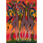 Puzzle  Heye-29426 Tinga tinga : Girafes