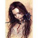 Puzzle  Heye-29430 La rose noire