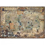 Puzzle  Heye-29526 Rajko Zigic : Le monde Pirate