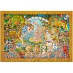 Puzzle  Heye-29637 Michael Ryba : Le cochon dans l'art