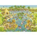 Puzzle  Heye-29693 Marino Degano: Habitat sur le Nil