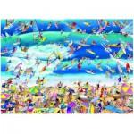 Puzzle  Heye-29703 Blachon Roger : Surfing