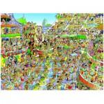 Puzzle  Heye-29752 Hugo Prades: Carnaval de Rio