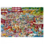 Puzzle  Heye-29796 Marché aux Puces