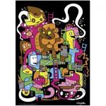 Puzzle  Heye-70169-29483 Jon Burgerman : Meilleur score