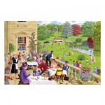 Puzzle  Gibsons-G3084 Sarah Adams : Tea on the Terrace