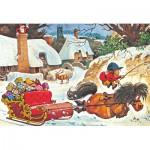 Puzzle  Gibsons-G3090 Norman Thelwell: A Thelwell Christmas