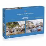 Gibsons-G5019 2 Puzzles - Ports de Mevagissey et Polperro
