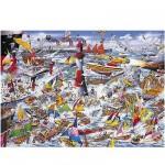 Puzzle  Gibsons-G591 Mike Jupp : J'aime les bateaux