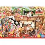 Puzzle  Gibsons-G6108 Jeux de Chats