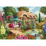 Puzzle  Gibsons-G6157 John Francis - Cottage: Les Petits Trésors