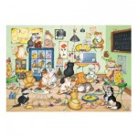 Puzzle  Gibsons-G6164 Linda Jane Smith : Purrfect Chocolate