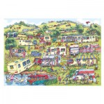 Puzzle  Gibsons-G6169 Armand Foster : The Caravan Site