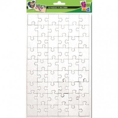 10 puzzles blancs colorier 54 teile puzzelman puzzle for Puzzle a colorier gratuit