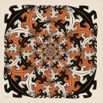Puzzle  PuzzelMan-823 MC Escher : Salamandres