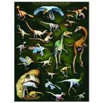Puzzle  Eurographics-6000-0072 Dinosaures à plumes
