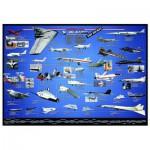Puzzle  Eurographics-6000-0248 L'aviation américaine