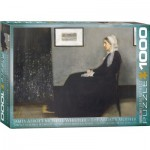 Puzzle  Eurographics-6000-0749 James Abbott McNeil Whistler: The Artist's Mother