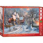 Puzzle  Eurographics-6000-0790 Dominic Davison : Christmas Cottage