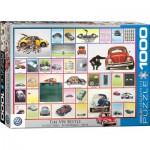 Puzzle  Eurographics-6000-0800 VW Beetle - La Coccinelle