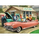 Puzzle  Eurographics-6000-0955 Nestor Taylor - The Pink Caddy