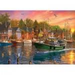 Puzzle  Eurographics-6000-0969 Dominic Davison - Harbor Sunset