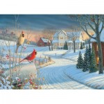 Puzzle  Eurographics-6000-0981 Country Cardinals by Sam Timm