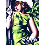 Puzzle  Eurographics-6000-1058 Jeune fille en vert