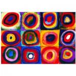 Puzzle  Eurographics-6000-1323 Etude de couleur de carrés