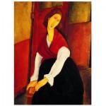 Puzzle  Eurographics-6000-1501 Jeanne Hébuterne devant une porte