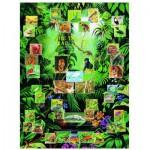 Puzzle  Eurographics-6000-2790 La forêt tropicale humide