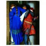 Puzzle  Eurographics-6000-3682 Rencontre dans les escaliers de la tourelle