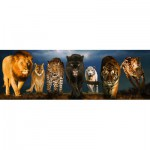 Puzzle  Eurographics-6005-0297 Grands chats